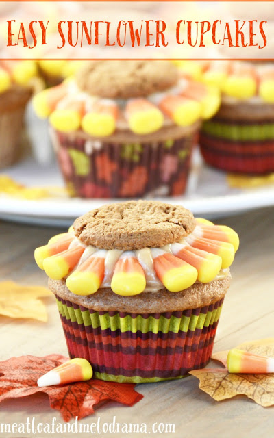 easy-sunflower-cupcakes
