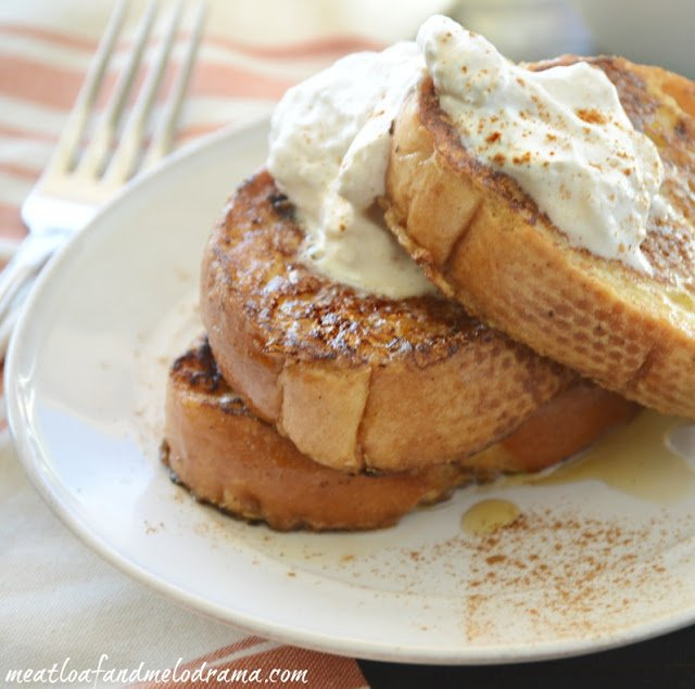 french-toast-dipped-in-eggnog-with-cinnamon-whipped-cream
