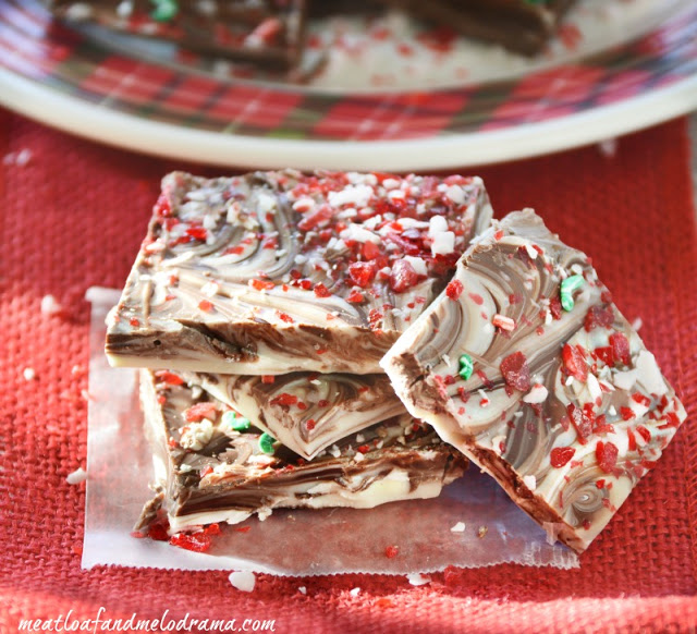 festive-peppermint-bark-Christmas-treat