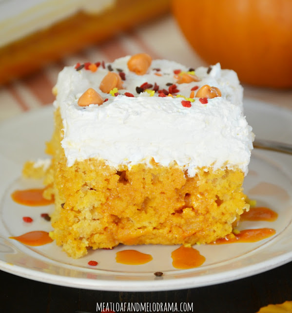 pumpkin-spice-poke-cake-with-whipped-topping-for-thanksgiving-dessert