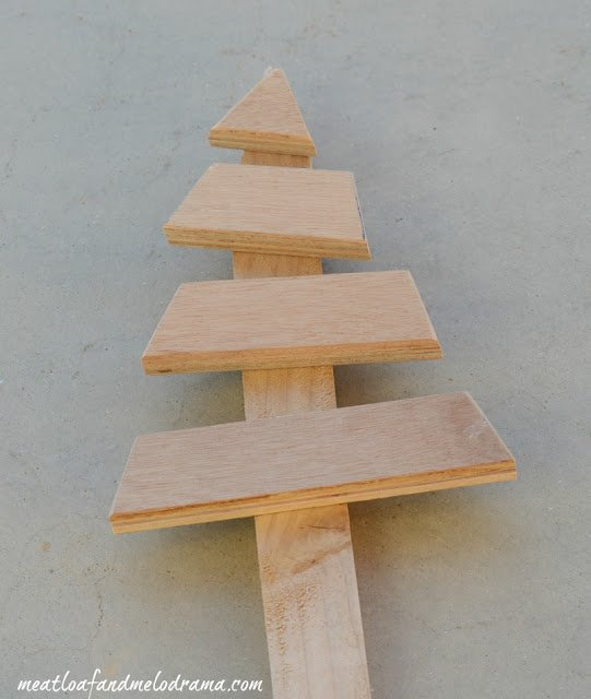 glue-wood-boards-to-garden-stake