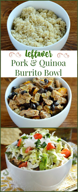 how-to-make-pork-quinoa-burrito-bowl