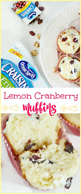 breakfast-recipe-lemon-cranberry-muffins-with-craisins