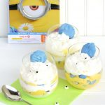Minion Eggnog Parfaits