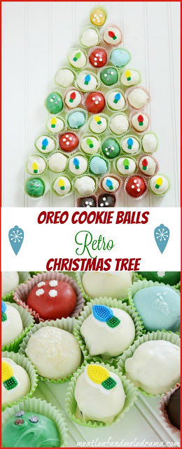cookie ball chriistmas tree for pinterest