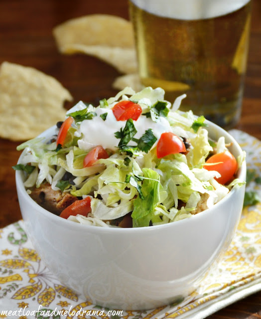 burrito-bowl-lettuce-tomatoes-sour-cream