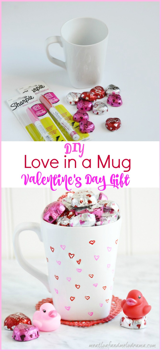 Diy Love In A Mug Valentine S Day Gift Meatloaf And Melodrama