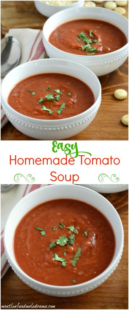 how to make easy homemade tomato soup