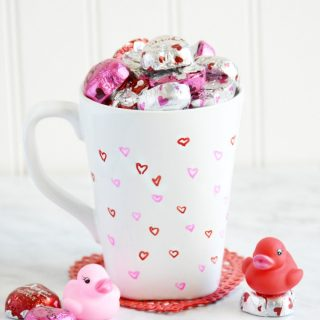 DIY Love in a Mug Valentine's Day Gift