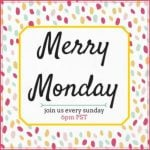 Merry Monday Link Party #126