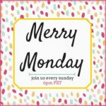 Merry Monday Link Party #130