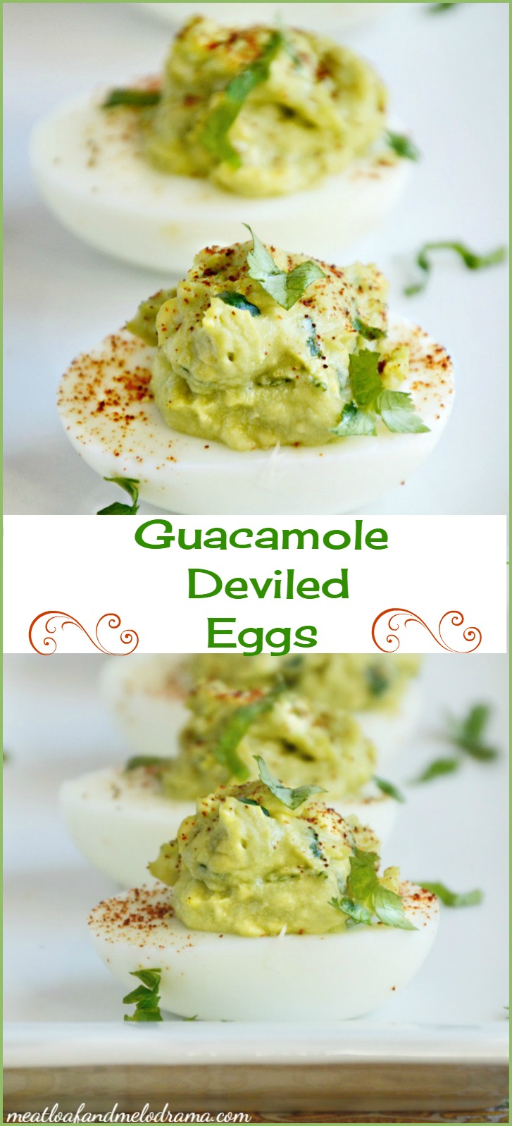 Have you ever used avocados in your deviled eggs?