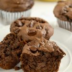 two-ingredient-easy-chocolate-chip-banana-muffins