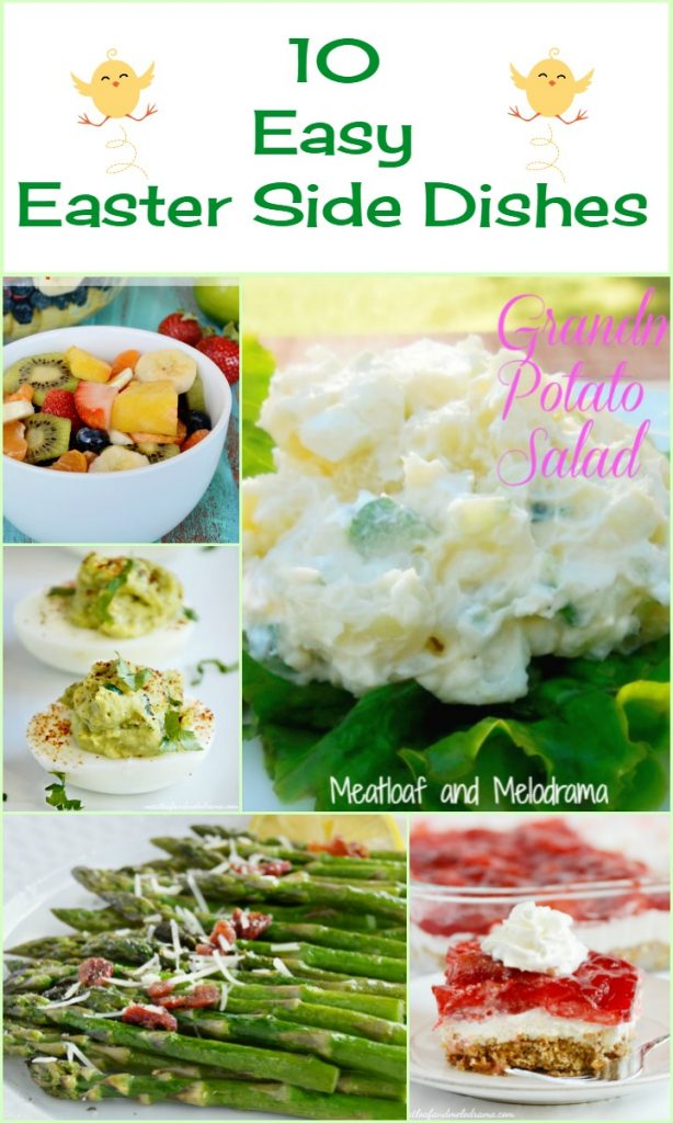 10 easy easter side dishes-collage