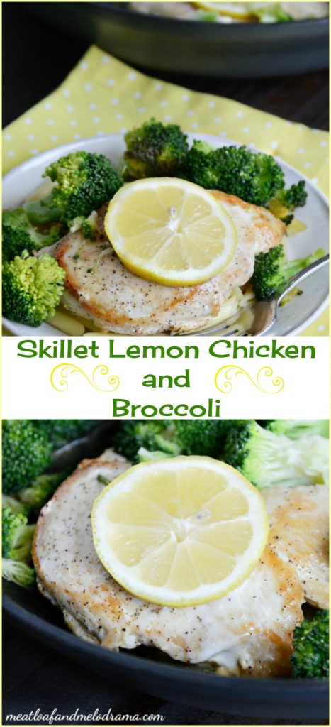 skillet lemon chicken and broccoli recipe