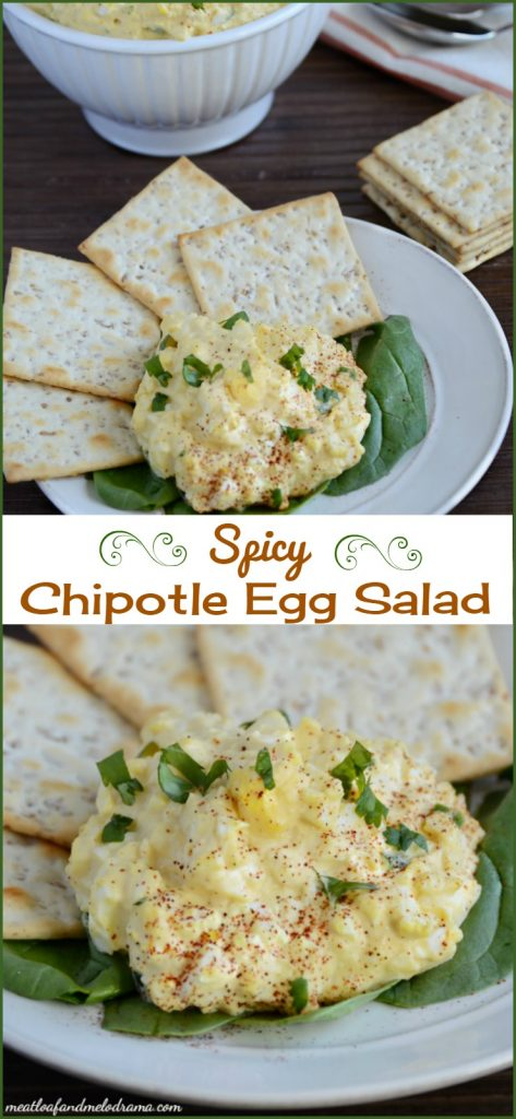 spicy chipotle egg salad recipe