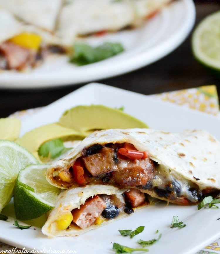 spicy-easy-jalapeno-sausage-quesadilla