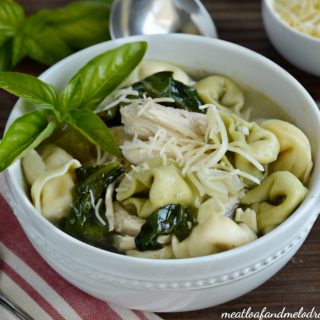 crock pot chicken tortellini soup