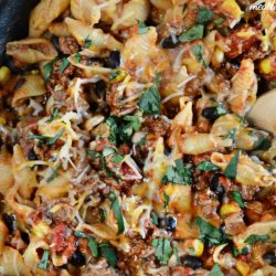 one-pan-mexican-pasta-skillet