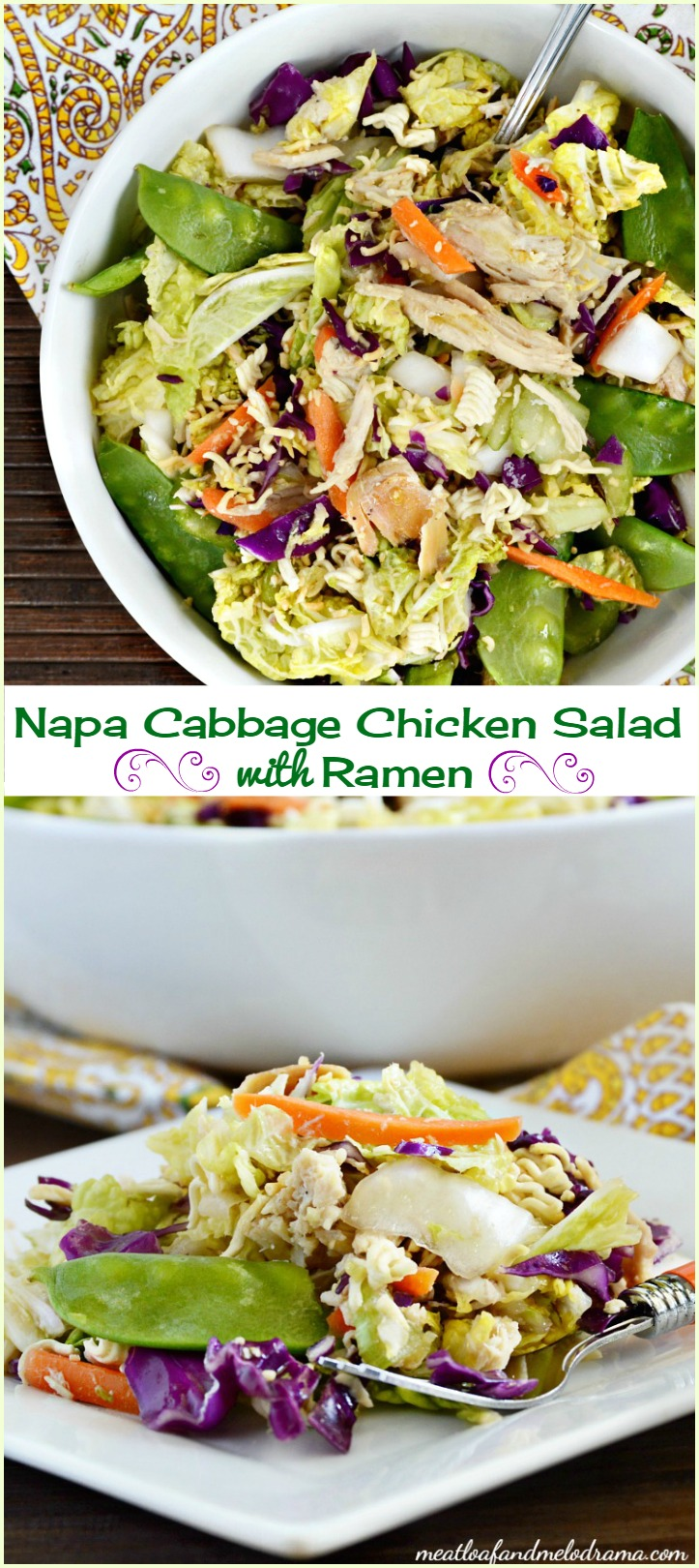 My family loved this Napa Cabbage Chicken Salad, and it made nice ...