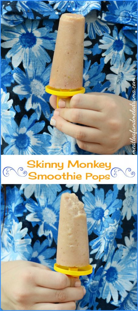 Skinny Monkey Smoothie Pops