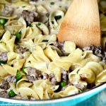 One-Pot Ground Beef Stroganoff