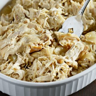Easy Crock-Pot Shredded Chicken
