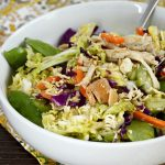 Napa Cabbage Chicken Salad with Ramen