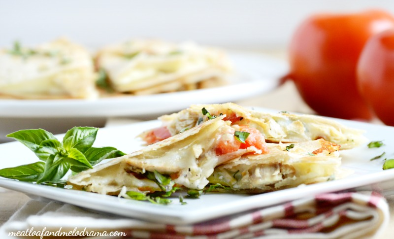 mini-chicken-caprese-quesadillas