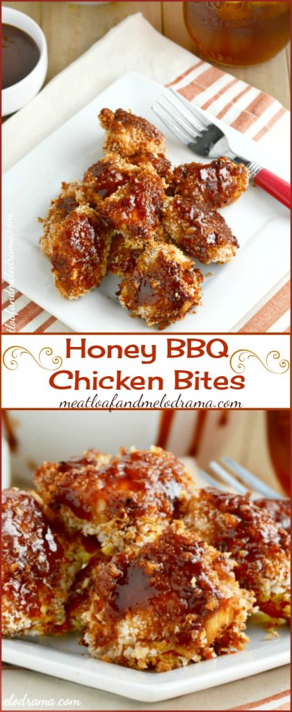 Honey BBQ Chicken Bites