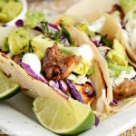 Easy Teriyaki Chicken Tacos with Pineapple Avocado Salsa