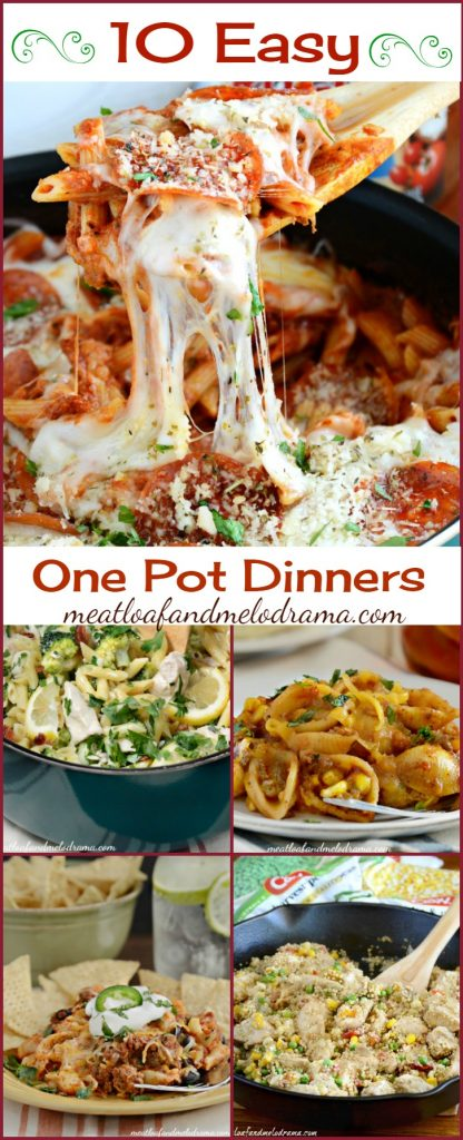 10 Easy One Pot Dinners That are Perfect for Busy Weeknights and are Kid Approved