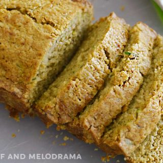 best zucchini bread loaf sliced