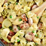one-pot-creamy-kielbasa-tortellini-recipe