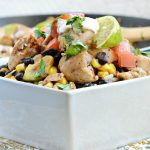 One Pan Chipotle Lime Chicken Stir Fry