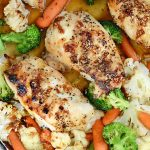 Sheet Pan Honey Teriyaki Chicken