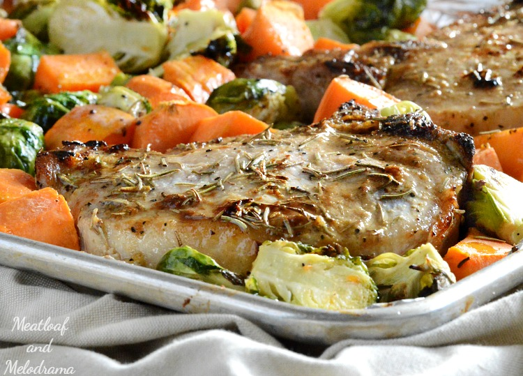 one-sheet-pan-maple-dijon-pork-chops-vegetables-dinner