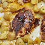 sheet-pan-honey-bbq-chicken-dinner