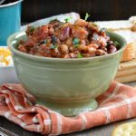 Beefy 3 Bean Chipotle Chili