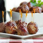 Crock-Pot Cranberry Orange Meatballs