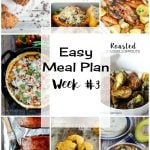 Easy Meal Plan Week #3