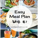 Easy Meal Plan Week 7