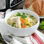 Easy Crock-Pot Chicken Noodle Soup