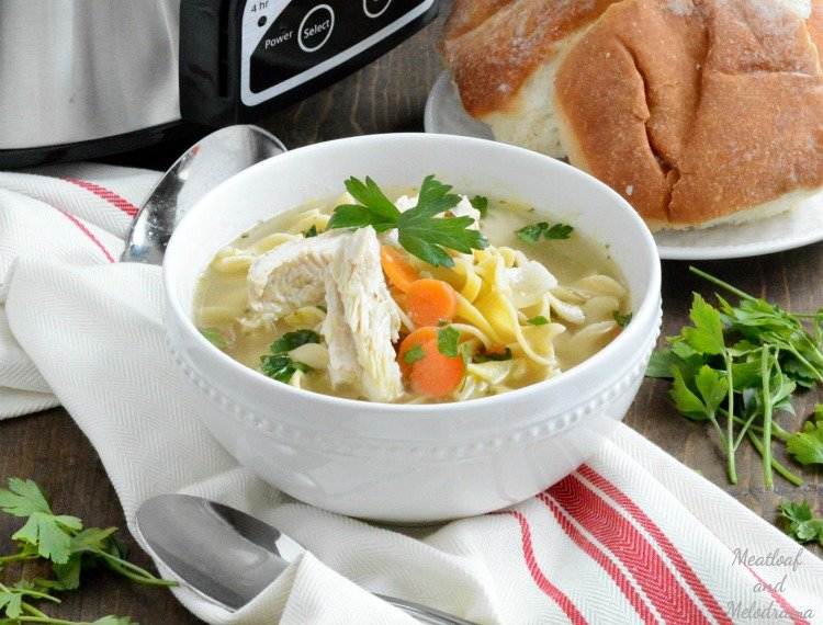 easy-crock-pot-chicken-noodle-soup-with-veggies-recipe-meatloafandmelodrama.com