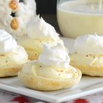Easy Eggnog Mini Pies