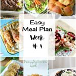 Easy Meal Plan Week #4