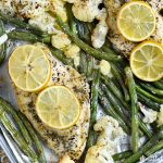 Sheet Pan Lemon Herb Chicken Dinner