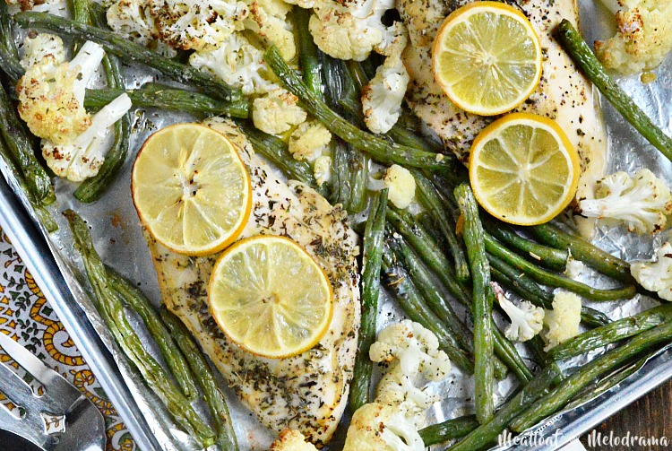 Sheet-pan-lemon-herb-chicken-dinner-low-carb-recipe