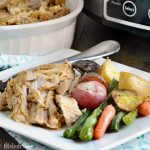 Crock-Pot Garlic Rosemary Pork Roast