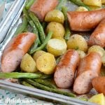 Sheet Pan Smoked Sausage Dinner